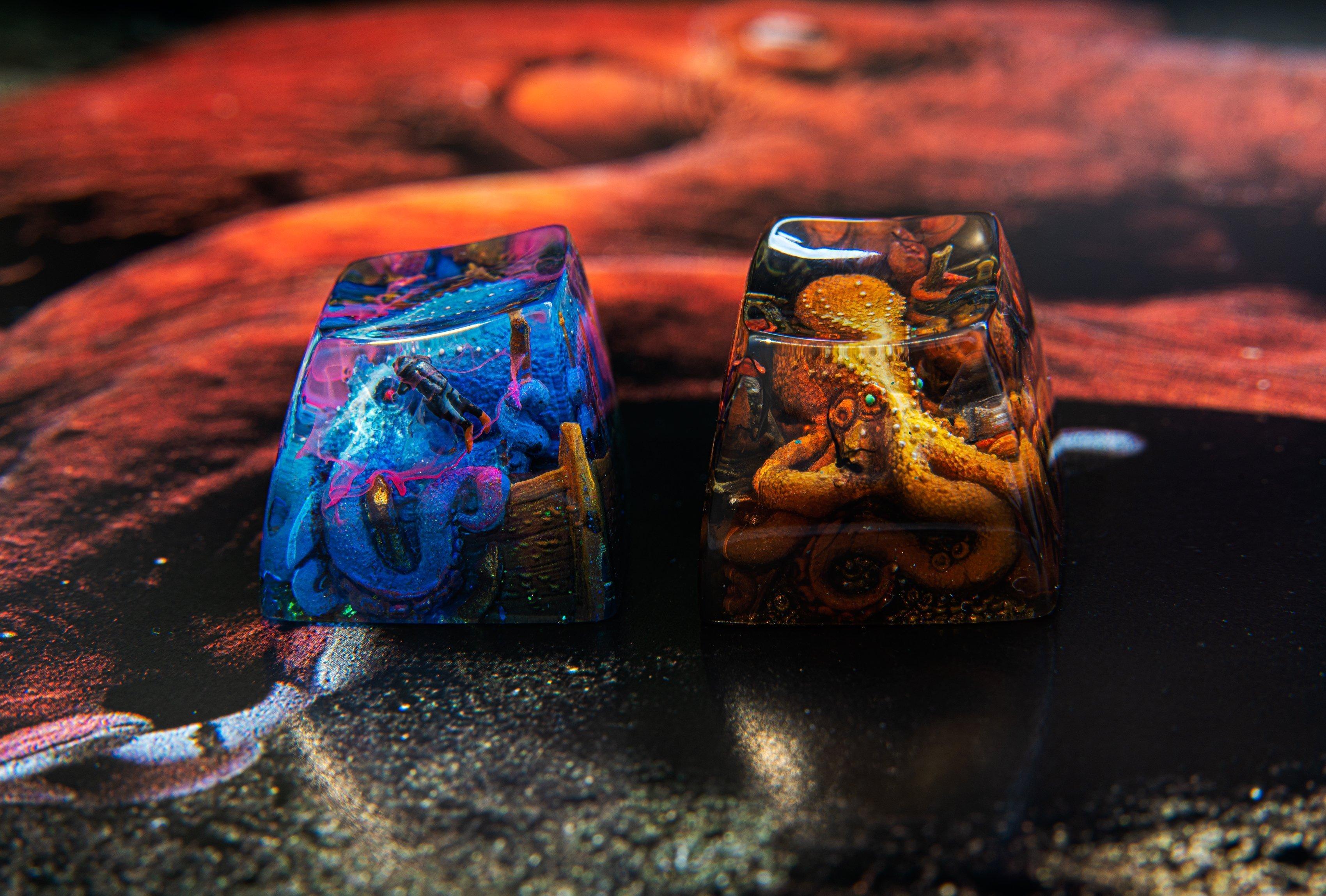 dwarf factory kraken keycaps
