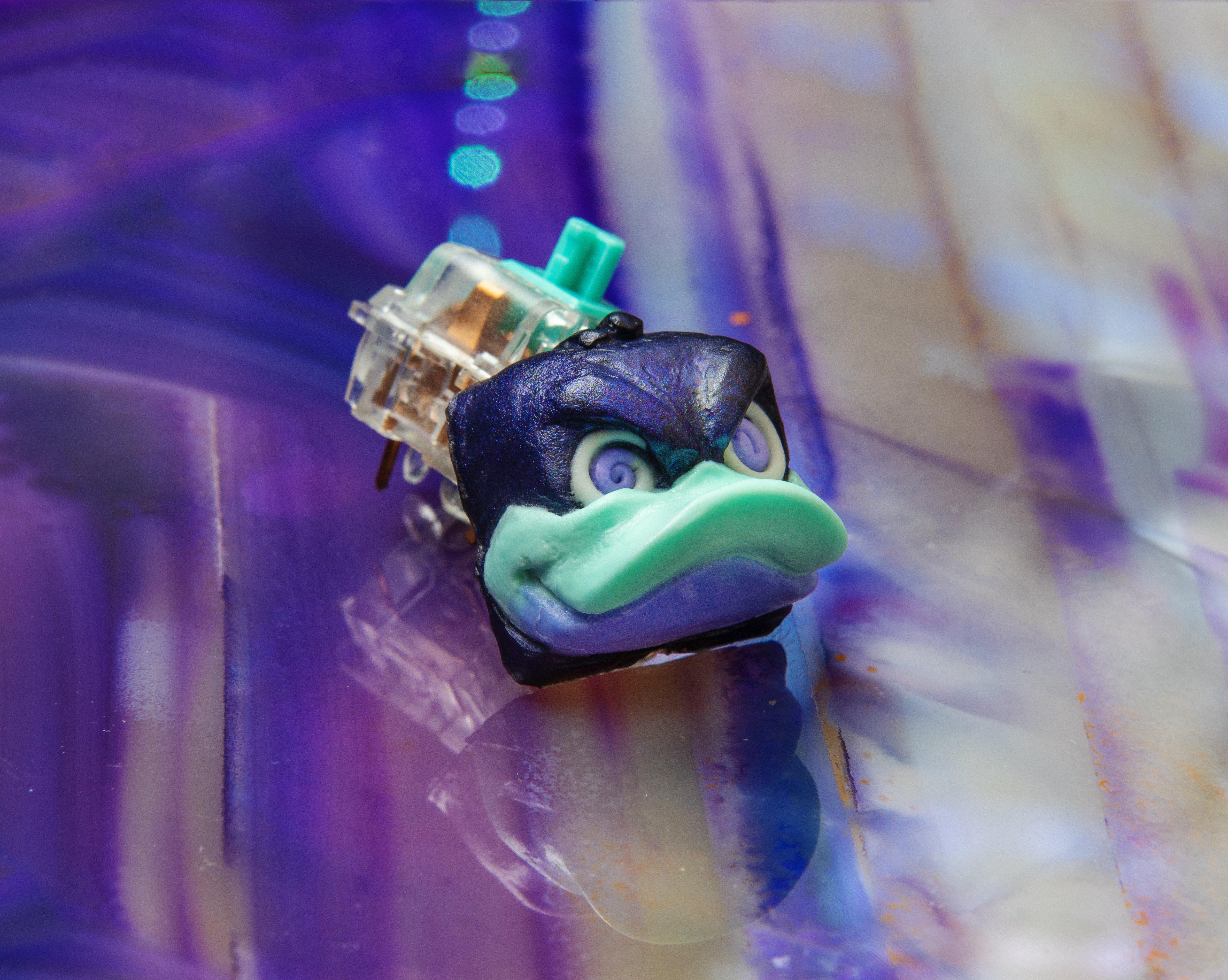daffy keycap badchad