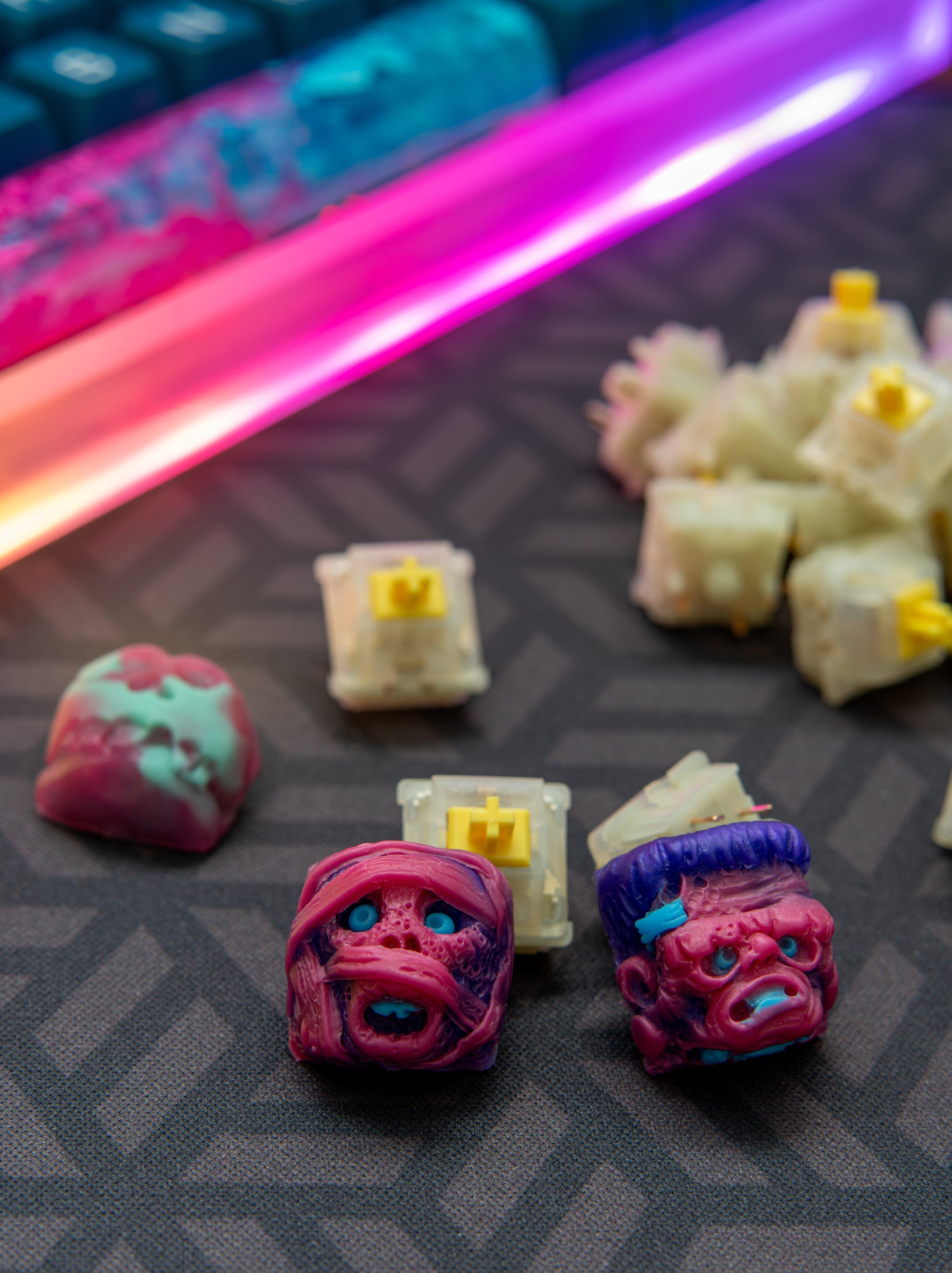 artisan keycaps