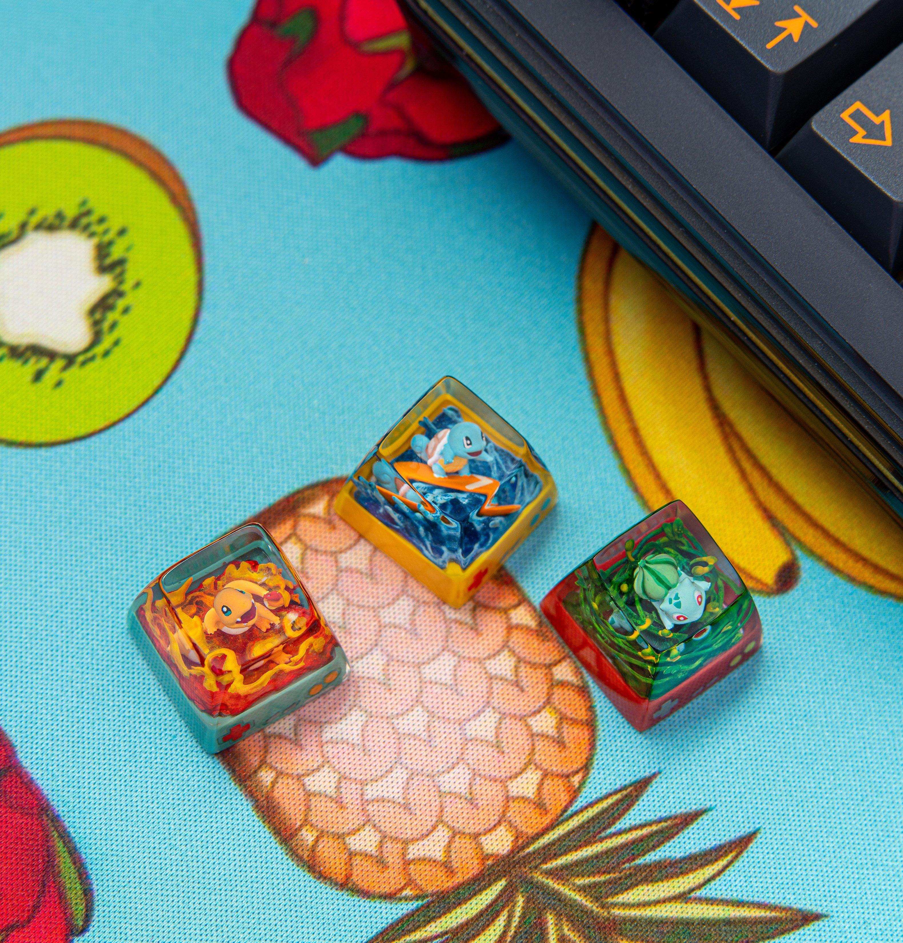 pokemon keycaps